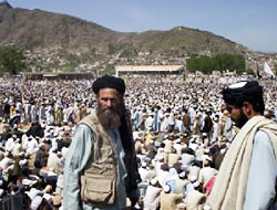 Taliban rally in Pakistan