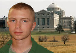 Photoof Bradley Manning